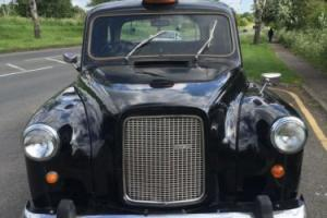 LONDON AUSTIN BLACK TAXI CAB 1977 WITH YEARS MOT NO ADVISORY, VERY RARE,EXPORT Photo