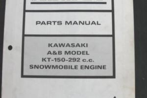 1970 ARCTIC CAT PANTHER PUMA LYNX KT-150 292 A B ENGINE SNOWMOBILE PARTS MANUAL