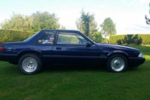 MUSTANG 93 NOTCHBACK 5.0 V8 SUPERCHARGED RUNNING PROJECT