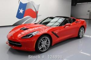 2014 Chevrolet Corvette STINGRAY Z51 2LT NAV HUD