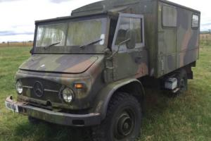 Unimog 404 Radio Back MOT exempt and Zero Tax Historic Vehicle
