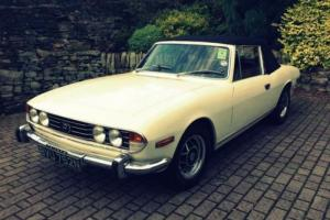 Triumph Stag 3.0 2dr 1974 Photo