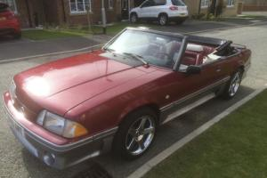 1990 Ford Mustang 5.0 GT Convertible Low Miles VGC Photo