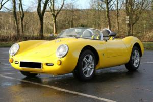 Porsche 550'S Spyder Evocation By Chamonix Finished In Brilliant Yellow