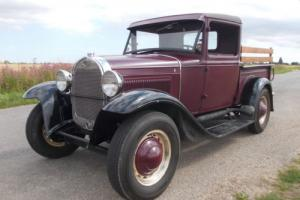 1928 FORD MODEL A PICK-UP - Steel Body - 6.6 Chevy Auto - MOT & Tax exempt!