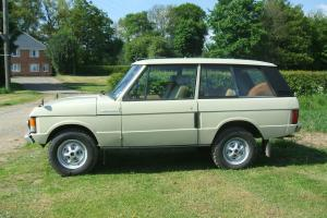 1974 RANGE ROVER 2 DOOR CLASSIC EARLY