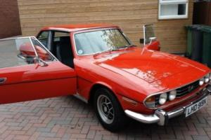 1974 TRIUMPH STAG MANUAL WITH OVER DRIVE ORIGINAL ENGINE BUT FULLY REBUILT