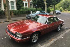 1994 JAGUAR XJ-S V12 6.0L Flamenco Red