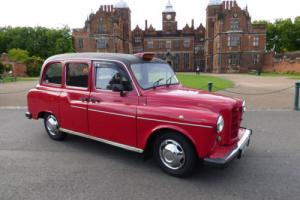 1995 FAIRWAY LONDON TAXI RED DIESEL AUTO DISABLED ACCESS 9 MONTHS MOT FX4