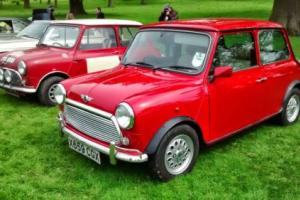 2001 ROVER MINI SEVEN RED