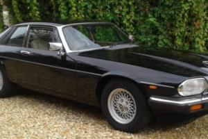 1990 JAGUAR XJ-S AUTO BLACK