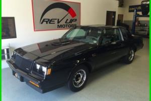 1987 Buick Grand National 3.8 V6 Turbo