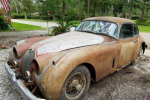 1958 jaguar XK150 Manual with overdrive