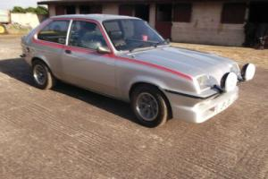 1978 VAUXHALL CHEVETTE 2300 HS SILVER SAME ERA AS RS2000 MEXICO LOTUS SUMBEAM for Sale