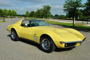 1969 Chevrolet Corvette Numbers Matching 427/400HP Special Order Colors