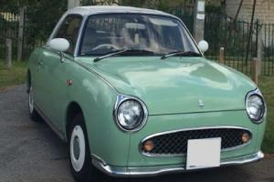 NISSAN FIGARO EMERALD GREEN CLASSIC CONVERTIBLE CAR PERSONALISED PLATE NOVELTY