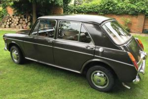 Very rare, last of the high spec Riley 1300 cars, before they were discontinued.