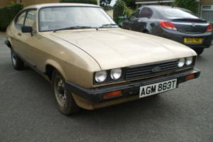 1979 FORD CAPRI 1.6GL ,1 LADY owner for 29 years, Garage Find