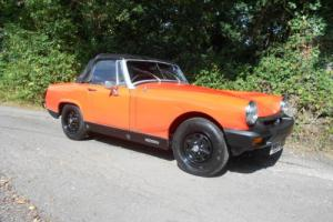 1979 MG MIDGET 1500 ONE PREVIOUSE OWNER 59000 MILES