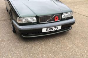 VOLVO 850 T5R AUTO VERY RARE ONLY 500 IN EMERALD GREEN OUT OF 5500 MADE IN 1995