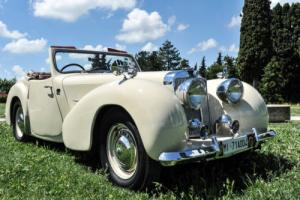 TRIUMPH ROADSTER 1949 IN CONCOURS CONDITIONS PX POSSIBLE