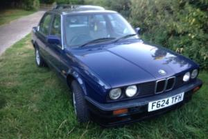 Classic 1989 Bmw 318 In Exceptional Original Condition