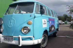 VW Splitscreen T1 Kombi - very nice and solid splitty, easy camper project