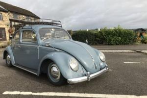 VW Volkswagen Beetle 1958 UK RHD restored