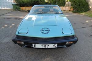 1980 TRIUMPH TR7 CONVERTIBLE - LOVELY CAR - NEW MOT - GREAT TR7 REG - 79k