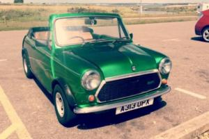 1983 AUSTIN MINI MAYFAIR GREEN classic mini