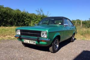 Ford Escort mk2 1300 ghia...2-door...very rare in stunning original condition.