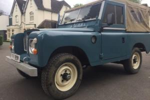 1973 LAND ROVER SERIES 3 2286cc TAX EXEMPT MARINE BLUE