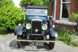 1929 MORRIS COWLEY DROP HEAD WITH DICKY