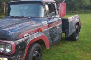 FORD F100/350 DUALLY TOW TRUCK 400BHP HOT ROD DRAG CAR RAT ROD PICKUP WRECKER