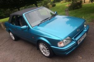 1990 (H) FORD ESCORT XR3i CABRIOLET CONV, RS OPTIONS, ALLOYS, LONG MOT