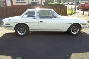 1975 TRIUMPH STAG V8 AUTO IN WHITE / BLACK INTERIOR ALL IN EXCELLENT CONDITION