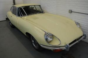 1969 Jaguar E-Type Series 2 Coupe Project, Great paperwork