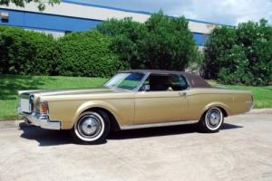 1970 Lincoln Mark Series Continental