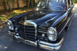 1964 Mercedes-Benz 200-Series 220 SE b Sedan