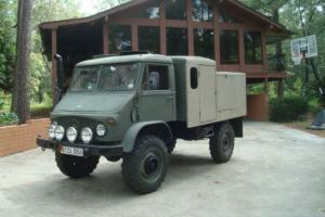 1964 Mercedes-Benz 404S UNIMOG 404S Overland Camper Gas Photo