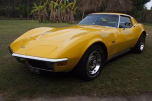 1971 Corvette Stingray T TOP Stunning Condition Rare Chrome Bumper BAR $$