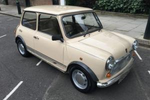 1987 AUSTIN MINI 1000 CITY E AUTO BEIGE