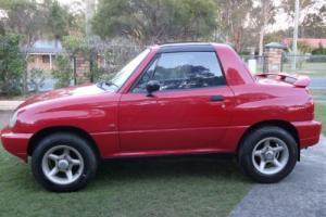 1996 Suzuki Vitara X90 in QLD