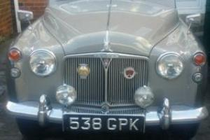 1958 Rover P4 60 rare low miles family owned classic car documented original