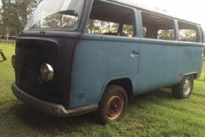 VW Volkswagen Kombi 1970 With MID Mounted V6 Chev Engine in QLD