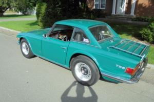 1972 Triumph TR-6 4 Speed Over Drive