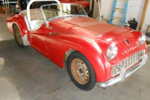 1958 Triumph TR3 TR3 Photo