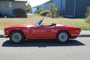 1972 Triumph TR-6 TR6 Photo