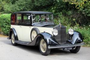 1935 Rolls-Royce 20/25 Hooper Limousine GYH59 Photo