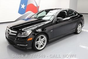 2012 Mercedes-Benz C-Class C250 COUPE PANO SUNROOF NAV